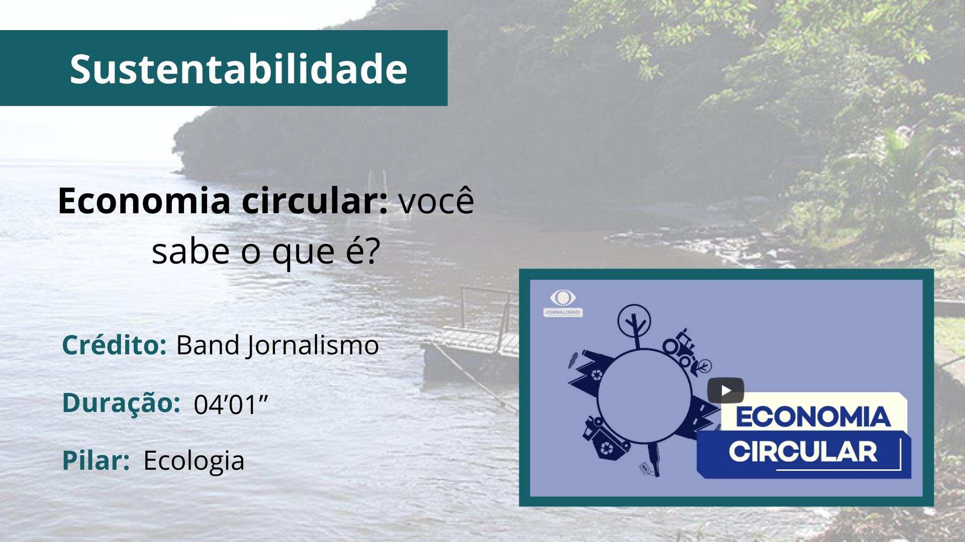 Economia circular: você sabe o que é?